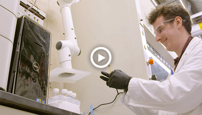 Jack Bufton saves big with DIY microfluidics device