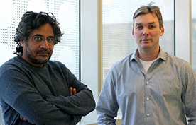 Professors Sachdev Sidhu and Jason Moffat