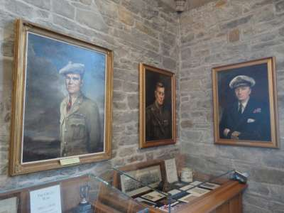 Portraits of some illustrious graduates of this university are on display: Lt.-Col. John McCrae, who wrote In Flanders Fields; Major Thain MacDowell, VC, DSO, who earned the Victoria Cross in the battle of Vimy Ridge;