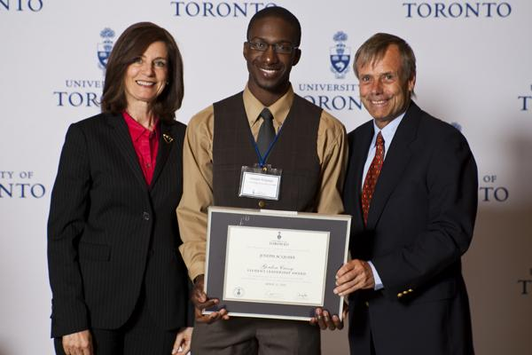 Jessica Acquaye - Gordon Cressy Student Leadership Award 2012 recipient