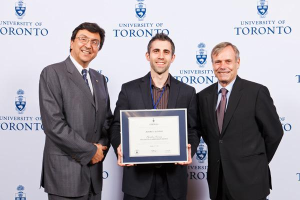 Jeffrey Alfonsi - Gordon Cressy Student Leadership Award 2012 recipient
