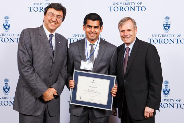 Ishraq Alim - Gordon Cressy Student Leadership Award 2012 recipient