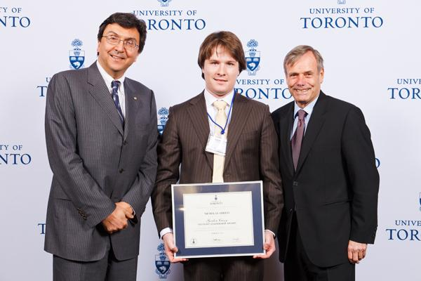 Nicholas Arrigo - Gordon Cressy Student Leadership Award 2012 recipient