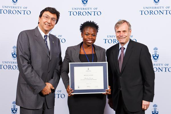 Renatta Austin - Gordon Cressy Student Leadership Award 2012 recipient