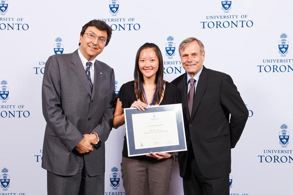 Elizabeth Bang - Gordon Cressy Student Leadership Award 2012 recipient