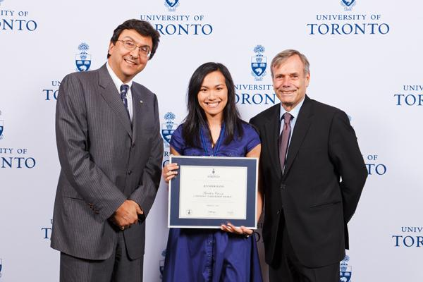 Jennifer Banh - Gordon Cressy Student Leadership Award 2012 recipient