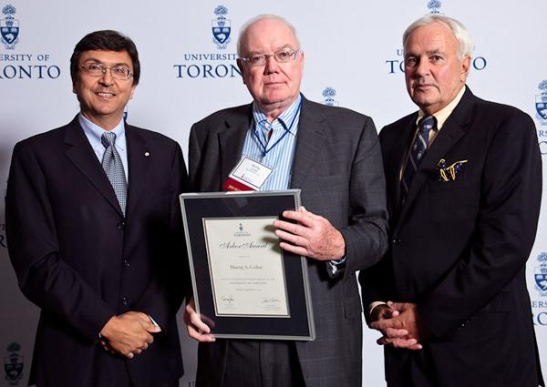 Murray Corlett - Arbor Award 2010 recipient