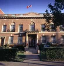 U of T faculty club building