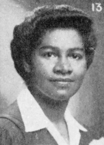 Gloria Carpenter smiles in her yearbook portrait.