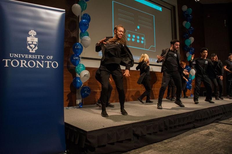 StageKeep officially launched the choreographer portion of the app with a performance during last week's U of T Startup Showcase (photo by Laura Pedersen)