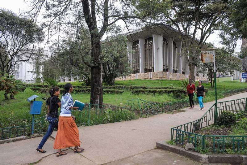 U of T and Addis Ababa University (pictured) work together to build graduate programs for students in Ethiopia (photo by Giorgio Cosulich/Getty Images)
