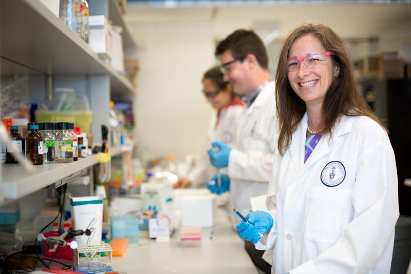 U of T's Molly Shoichet is a Canada Research Chair in tissue engineering (photo by Roberta Baker)