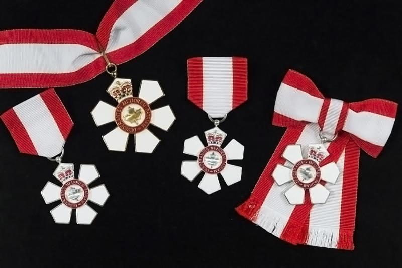 Order of Canada medals (photo by Sgt. Johanie Maheu/Governor General of Canada)