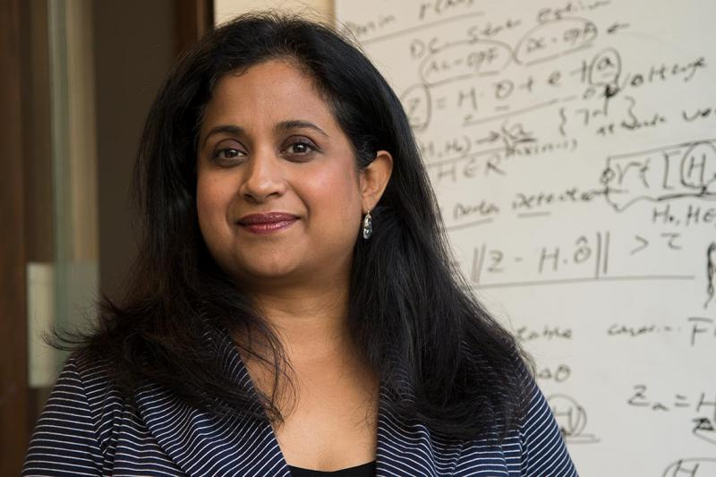 Deepa Kundur, a professor in the department of electrical and computer engineering, will receive more than $340,000 for her research into the security of power grids (photo by Romi Levine)