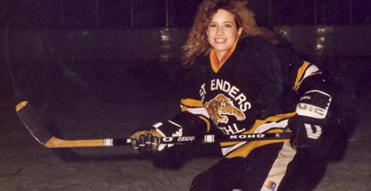 Can you name this U of T alumna and hockey pioneer?