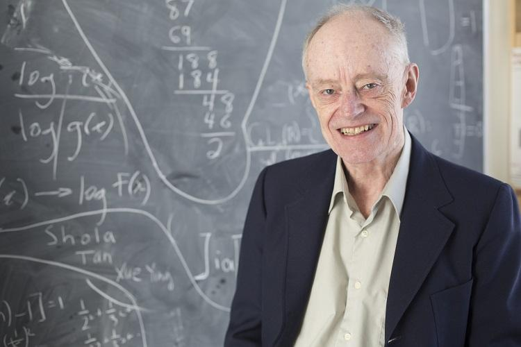 University Professor James Arthur in the department of mathematics was named a Companion of the Order of Canada for his contribution to contemporary mathematics (photo by Johnny Guatto)