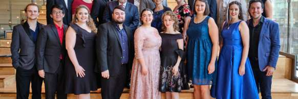 UofT Opera and their 18 students