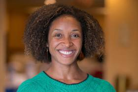 Dr. Aisha Lofters is an assistant professor and clinician scientist at the University of Toronto in the department of family and community medicine and an adjunct scientist at the Institute for Clinical Evaluative Sciences (photo courtesy of ICES)