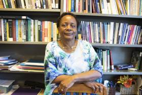Associate Professor Nakanyike Musisi is one of two U of T faculty members being honoured by the African Alumni Association (photo by Noreen Ahmed-Ullah)