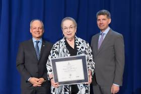 Professor Judith Poë wins a 2016 Vivek Goel Faculty Citizenship Award
