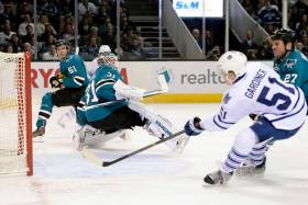 San Jose, CA: San Jose Sharks vs. Toronto Maple Leafs Game