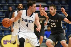 Hamilton, ON: McMaster vs. U of T Varsity Basketball Game