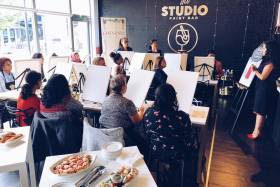 U of T Alumni and Friends Paint Night