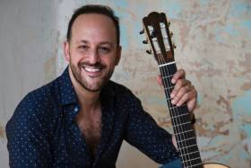 Photo of musician Tariq Harb