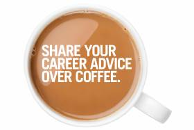 Share your career advice over coffee