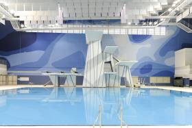 Dive pool at Toronto Pan Am Sports Centre UTSC