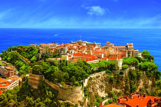 View over the city of Monte Carlo