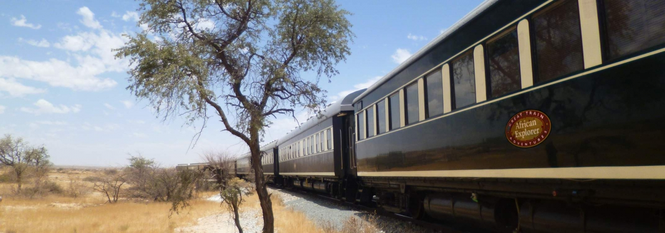 Photo of African explorer train