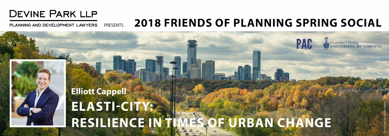Friends of Planning Spring Social 2018