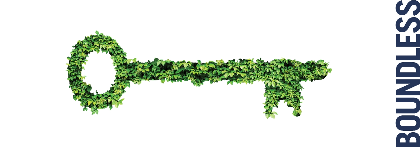 Key made of ivy